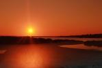 Fuzeta ondergaande zon