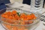 Peen knoflook en koriander