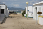 Uitzicht op Olhão vanaf eiland